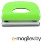 Дырокол KW-trio 091X9green Dolphin до 10 листов зеленый выдвижная линейка