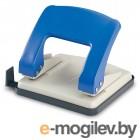 Дырокол KW-trio 966g/blu Stylish Medium до 20 листов синий выдвижная линейка