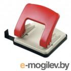Дырокол KW-trio 966g/red Stylish Medium до 20 листов красный выдвижная линейка