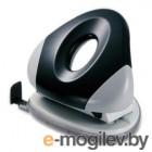 Дырокол KW-trio 96EOgr/blck UFO Medium НЛО до 25 листов черный/серый металл/пластик линейка