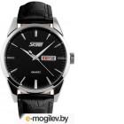 Часы наручные мужские Skmei 9073-4 черный/серебристый
