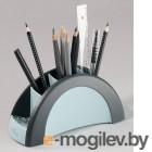 Подставка для ручек и карандашей Durable, пластик, черная