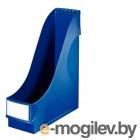 Вертикальная подставка для журналов LEITZ,  1 отделение, пластик, синяя