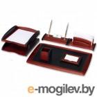 Набор настольный Good Sunrise RS6M-1A деревянный/МДФ 6 предметов красное дерево/черный