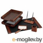 Набор настольный Good Sunrise T6EX-1A деревянный 6 предметов материал ореховое дерево