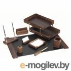 Набор настольный Good Sunrise T9D-1 деревянный 9 предметов фактура - орех оттенок натуральный