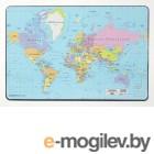 7211-19 Настольная подкладка для письма Карта мира DURABLE 40*60 см