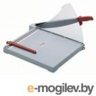 Резак сабельный, пластиковая база, мощность 10 листов, формат  В4, защитный экран, KW-trio,Тайвань.