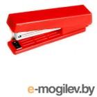 Cтеплер N10 до 10 листов,красный, вместимость 50 скоб. встр. антистеплер, KW-trio.