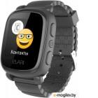 Часы-телефон Elari KidPhone 2 (KP-2) черный