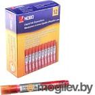 Набор маркеров для доски NOBO Liquid Ink 1901074 12шт, красный