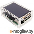 Корпус Seagate RA147 Корпус ACD Acrylic Case w/ 3.5 inch LCD hole for Raspberry Pi 3