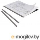 Набор для брошюровки DURAGRIP черный, 5 скрепкошин + 5 прозрачных обложек, max 20 листов, пластик  D