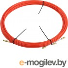 Протяжка кабельная (мини УЗК в бухте), стеклопруток, d=3,5мм, 20м КРАСНАЯ (47-1020)