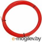 Протяжка кабельная (мини УЗК в бухте), стеклопруток, d=3,5мм, 30м КРАСНАЯ (47-1030)