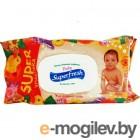 Влажные салфетки ООО КПД Super Fresh с календулой 120шт