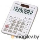 Калькулятор настольный Casio MX-12B-WE белый/серый 12-разр.