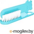 Набор для ухода за волосами детский Canpol Щетка для волос мягкая и расческа / 2/424 светло-голубой