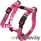 Шлея Rogz Lapz Trendy Tuigje Pink Bones M 16мм / RSJ523K