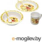 Набор детской посуды Canpol 12+ 4/401 (мишка)