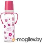 Бутылочка для кормления Canpol 12+ / 11/815 250мл, розовый