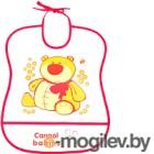 Нагрудник детский Canpol 2/919 красный