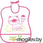 Нагрудник детский Canpol 2/919 розовый
