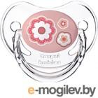Пустышка Canpol Newborn Baby силиконовая анатомическая 6-18мес / 22/566 розовый