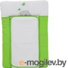 Доска пеленальная Polini Kids Зайки 70x50, зеленый