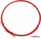 Rexant (47-1005) Протяжка кабельная (мини УЗК в бухте), стеклопруток, d=3,5мм, 5м КРАСНАЯ