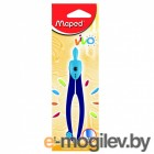 Циркуль Maped Essentials пластиковый с грифелем с безопасной иглой