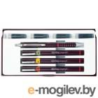 Набор изографов Rotring Junior Set 3 шт. 0.20/0.40/0.60мм 1 карандаш Tikky 0.5 мм и 4 картриджа