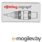 Пишущий элемент Rotring для изографа S0202630 1.00мм пластиковый корпус бордовый