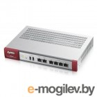 Маршрутизатор Firewall Appliance 10/100/1000, 4x LAN/DMZ, 2x WAN, UTM Bundle (AS,AV,CF,IDP) 1 YR