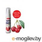 Съедобная гель-смазка TUTTI-FRUTTI для орального секса со вкусом вишни, 30 г