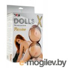 Кукла надувная Dolls-X Passion, Рыжая. Кибер вставка: вагина-анус.