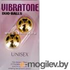 Вагинальные шарики Dream Toys, золотистые, 3,5 см