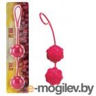 Вагинальные шарики Dream Toys с дополнительной стимуляцией, красные, 3,5 см