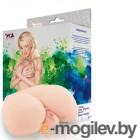 Мастурбатор реалистичный TOYFA Juicy Pussy с вибрацией, вагина и анус