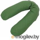 Подушка детская Polini Kids Горошек зеленый