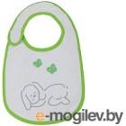 Набор нагрудников детских Polini Kids Зайки с вышивкой (зеленый)