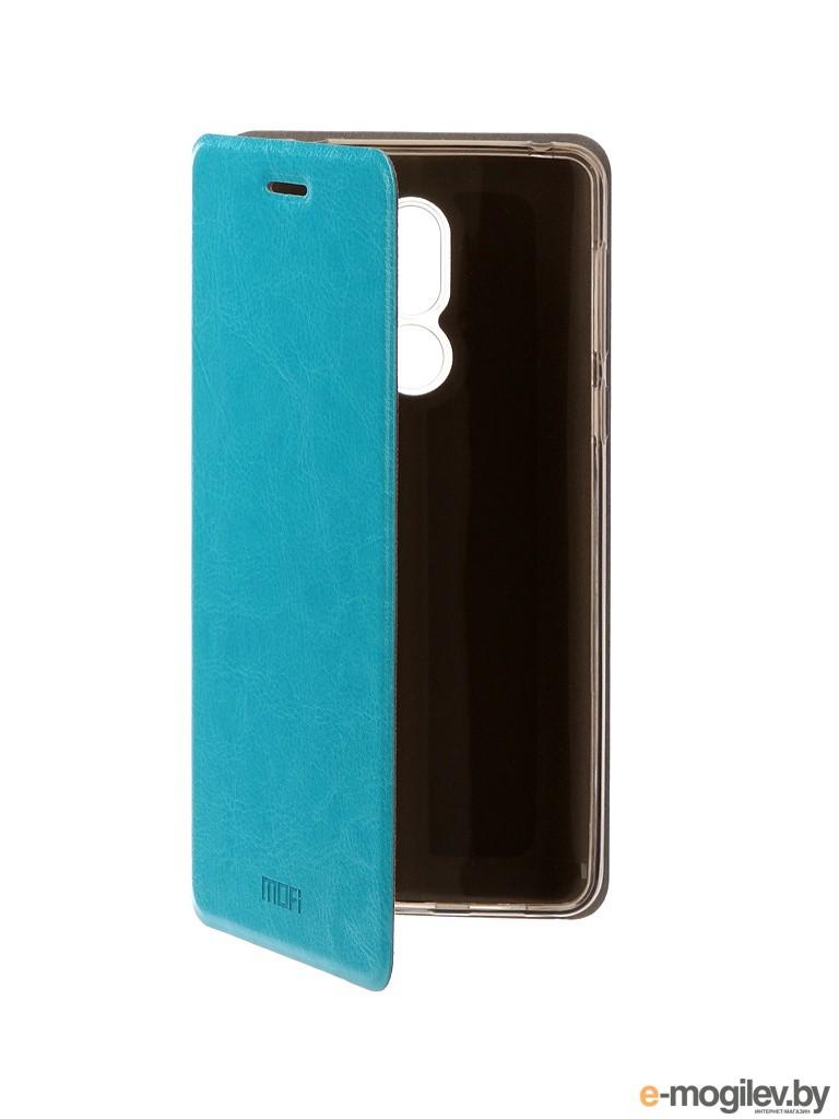 для Huawei Чехол Huawei Honor 6X Mofi Vintage Light Blue 15519