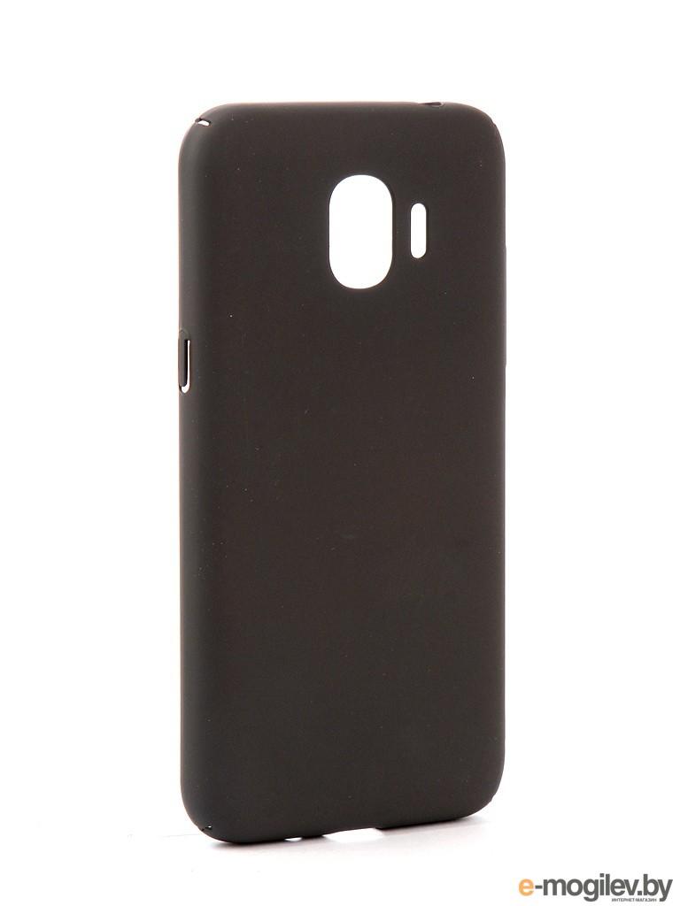 для Samsung Чехол Samsung Galaxy J2 2018/J2 Pro 2018 DF Soft-touch sSlim-34 Charcoal Grey