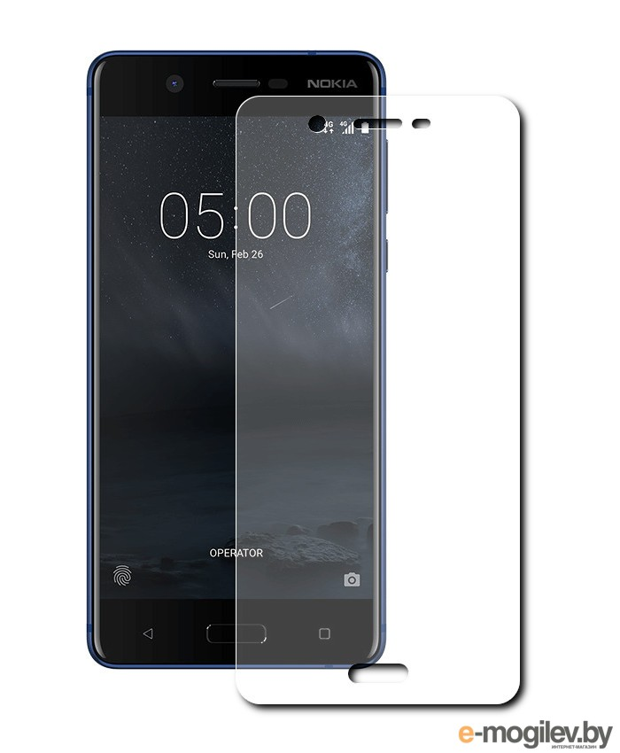 для Microsoft / Nokia Защитное стекло Nokia 5 Svekla ZS-SVNO5