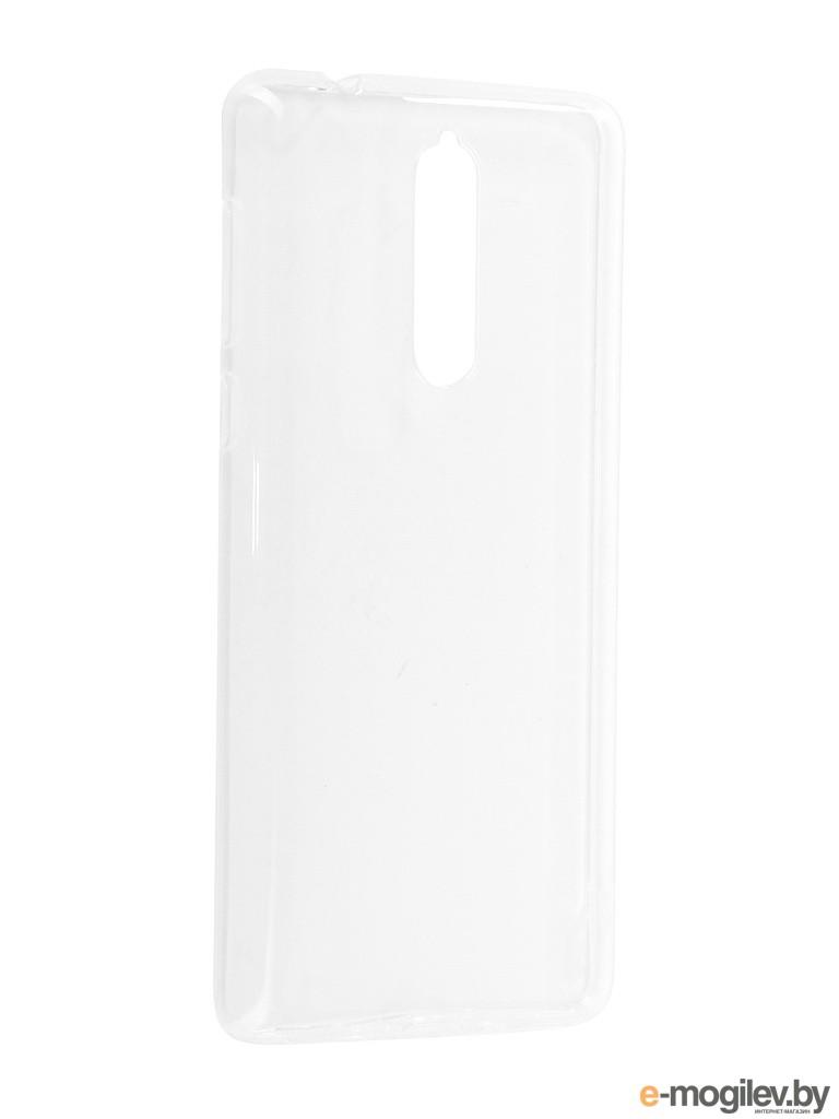 Чехол Nokia 8 Svekla Silicone Transparent SV-NO8-WH