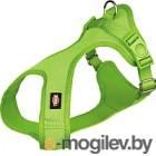 Шлея Trixie Soft harness 16284 S–M зеленый