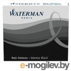 Чернила в картридже З/ч. Waterman Ink cartridge Intl  Black  в упаковке 6 картриджей 52011