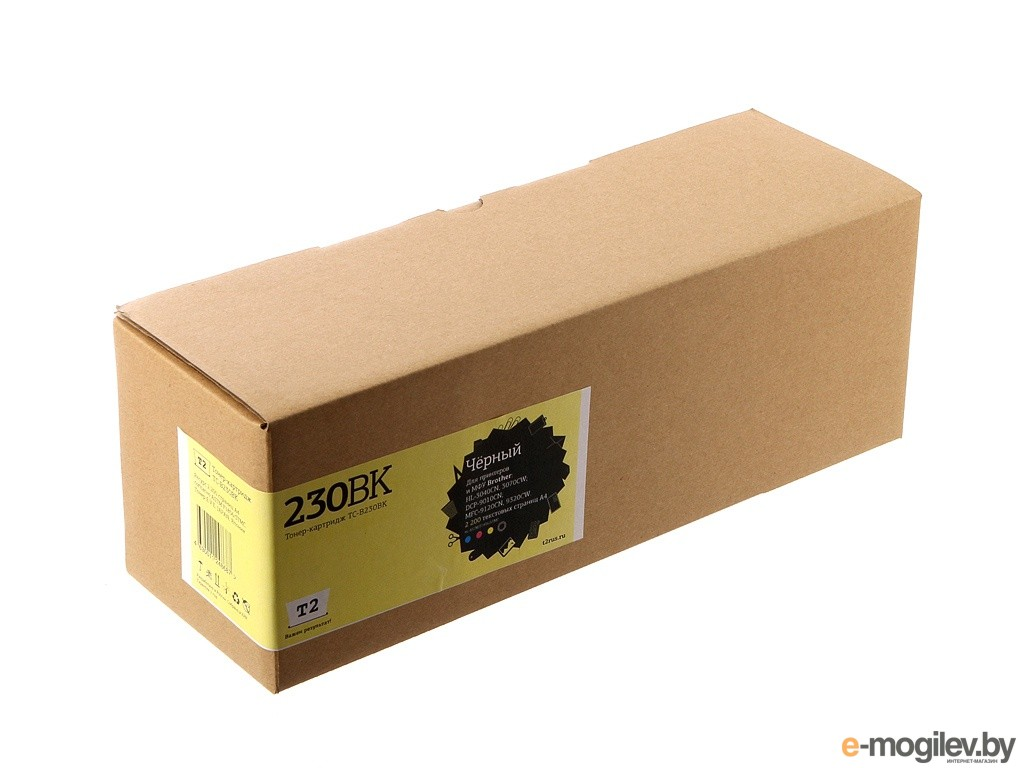 картриджи T2 TC-B230BK Black для Brother HL-3040CN/DCP-9010CN/MFC-9120CN