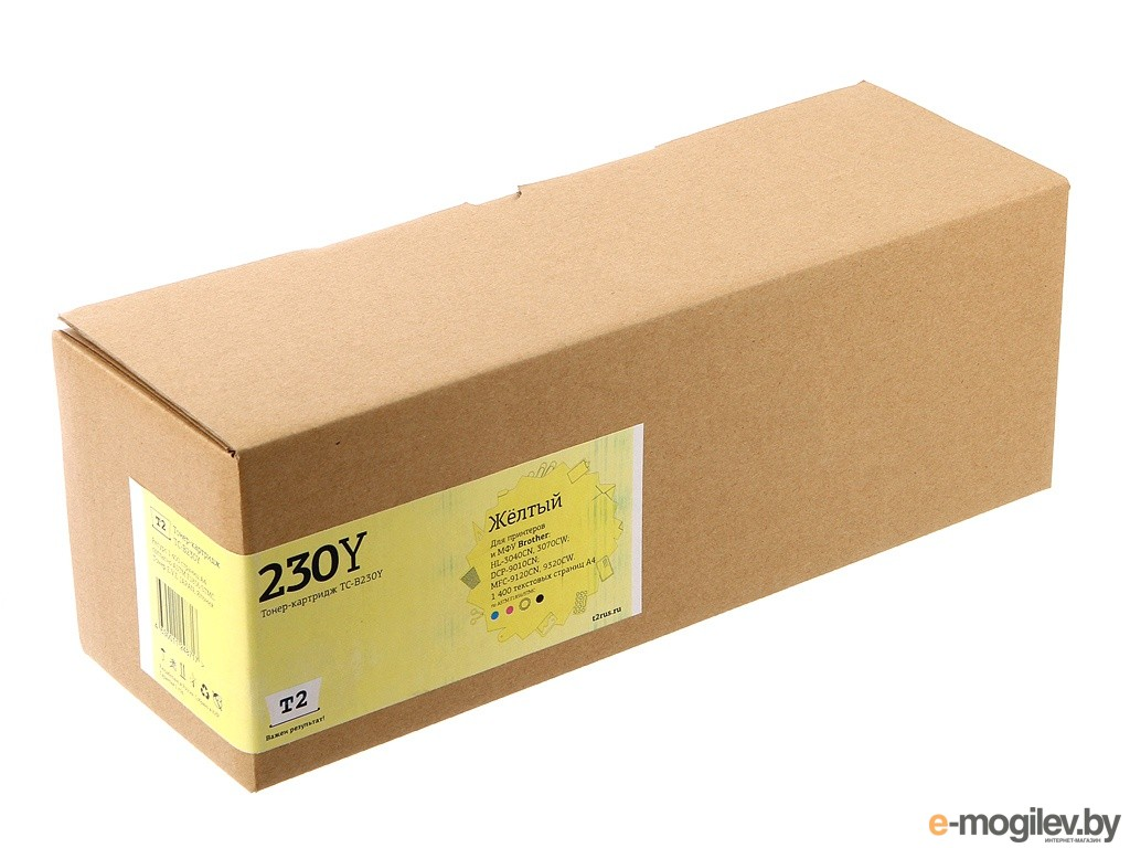 картриджи T2 TC-B230Y Yellow для Brother HL-3040CN/DCP-9010CN/MFC-9120CN