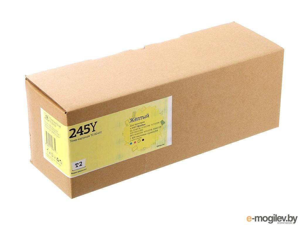 T2 TC-B245Y Yellow для Brother HL-3140CW/3170CDW/DCP-9020CDW/MFC-9330CDW